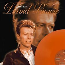 DAVID BOWIE NIGHT IS ALL on 180g ORANGE VINYL  LP  MINT NEW RARE TRACKS