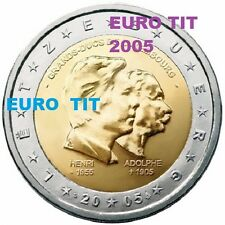 2 €   LUXEMBOURG  COMMEMORATIVE   2005    1   X    PIECE             disponible
