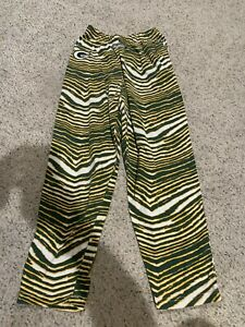 Officially Licensed Zubaz NFL Leggings Size Small Green Bay Packers