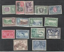 BRITISH HONDURAS - 15 MINT NEVER HINGED OLDER STAMPS - SEE SCAN