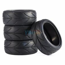 26mm 4pcs Rubber Tires Tire High Grip Tyre For RC 1/10 On Road Racing Car NEW