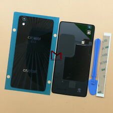 for Alcatel Idol 4 6055 6055u Original Glass Back Cover Housing Battery Door