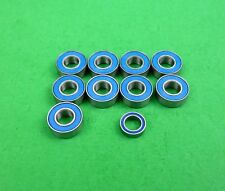Blue ball bearing set for Tamiya Hornet,Lunchbox Grasshopper etc buggies.