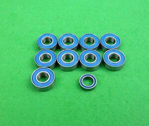 Blue ball bearing set for Tamiya Hornet,Lunchbox Grasshopper etc buggies.