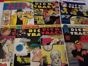 DICK TRACY -BLACKTHORNE PUBLISHING - 7 BOOKS #'s 2, 3, 4, 5, 6, 7 plus more