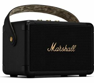 MARSHALL Kilburn II Portable Wireless Bluetooth Speaker - Black & Brass - Currys