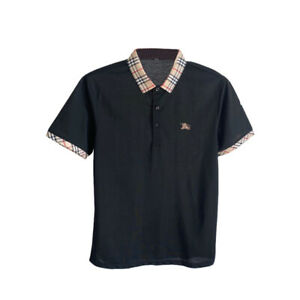 Men's short-sleeved T-shirt summer lapel top 2021 New POLO shirt Fashion Tshirt