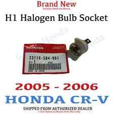 2005- 2006 Honda CR-V Genuine OEM Halogen Headlight Bulb Holder Socket