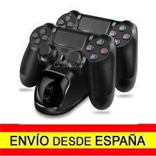 Base de Carga Mandos Inalámbricos PS4 Cargador PlayStation 4 Dock USB a2904