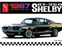1967 Shelby GT350 DUAL COLOR 1/25 scale skill 2 AMT plastic model kit#800