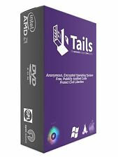 TAILS DVD + Guide FIREWALL BYPASS Anonymous Internet Encryption PC Mac + F/S