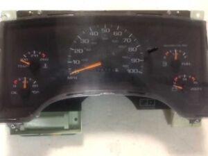 Speedometer Floor Shift Opt D07 Cluster Fits 95-97 BLAZER S10/JIMMY S15 304864