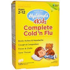 Hyland's 4 Kids Complete Cold 'n Flu, 125 Tablets