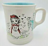 Disney Animators Collection Mug Sketches Jasmine Snow White Rapunzel Tinker Bell