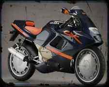GILERA Cx125 91 5 A4 Foto Impresión moto antigua añejada De