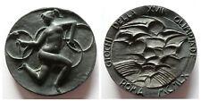 Rara medaglia giochi della XVII Olimpiade Roma 1960 (Incisore Greco)