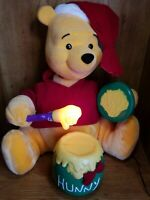 Winnie The Pooh Animated Illuminated Christmas Display Figure Telco Motion-Ettes
