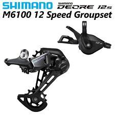 Shimano Deore M6100 12-Speed MTB groupset SL/RD-M6100 Shifter + Rear Derailleur