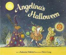 Angelina's Halloween (Angelina Ballerina)-ExLibrary