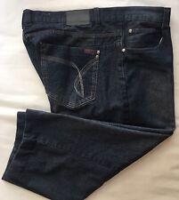 Swiss Cross Men's Big & Tall Dark Wash Jeans Size 46 X 23