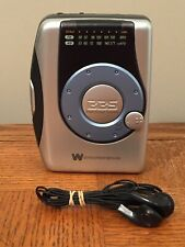White-Westinghouse Wcs-12330 Am/Fm Stereo Radio Cassette Player w/ Ear Buds