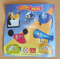 McDonalds Happy Meal Toy 2002 Walt Disney Studios Movie Equipment - Various