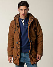 Anerkjendt Madder Brown Hooded @ REDUCED TO CLEAR@ Parka Coat Medium £120
