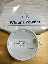 Lead Cement Putty (1/2 Pint) & Whiting Powder (1 LB) Stained Glass Supplies