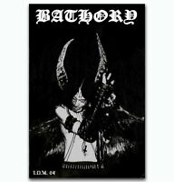 58122 Bathory Quorthon Heavy Metal Music Band Wall Print POSTER AU