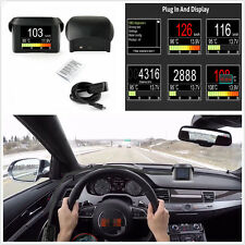 Car OBD Digital Trip Computer Fault Code Multi-Function Thermometer Tachometer