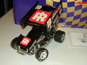 1/18 ACTION STEVIE SMITH  WOO SPRINT CAR DIECAST INGERSOLL RAND #19 BOXED