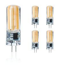 G4 LED 220V Warmweiß Kerze,5W Ersetzt 40W leuchtmittel,5er Pack Lampe,COB,birne