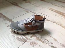 P22 - Chaussures Garçon Loup Blanc NEUVES - Modèle Damian Gris (81.50€)