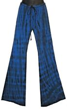 SIZE L (16-20) LOVERSBAIT FUNKY FLARES, OZ MADE. TIE DYED! 70's, YOGA, DANCE.