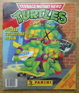 Panini Teenage Mutant Hero Turtles Complete Sticker Album