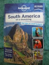 LONELY PLANET SOUTH AMERICA on a SHOESTRING~TRAVEL GUIDE~12TH EDITION~PAPERBACK