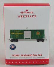 Hallmark Keepsake Lionel Seaboard Box Car Ornament