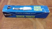 Vintage Boots Screen Projector Boxed and Working