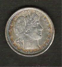 1893-O__Liberty Head Barber Quarter__Very Rare BU Coin