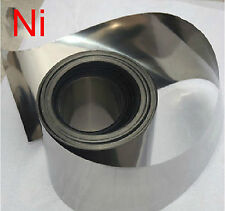 99.96% Pure Nickel Ni Metal Foil Thin Sheet 0.2mm x 90mm x 1000mm #EYL-3