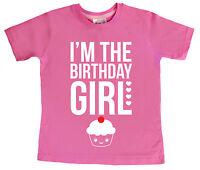 """Dirty Fingers T-Shirt """"I'm Birthday Girl"""" 2nd 3rd 4th 5th 6th 7th 8th 9th 10th"""