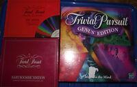Trivial Pursuit 50 Spare Question Cards  Various Disney LOTR Genus Free UK post