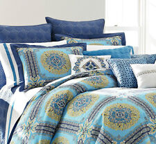 Laundry By Shelli Segal, Blue Riviera, 1 Euro Pillow Sham Blue