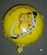 """18"""" Garfield """"Keep Swinging"""" Round Foil Balloon -Great Gift For Golf Lover (BL79"""