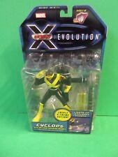 CYCLOPS w/ Op-Tech Training Module - Toy Biz Marvel X-Men Evolution Figure - NEW