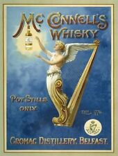 McConnell's Irish Whisky, Bar, Club Pub Drink, Restaurant, Large Metal/Tin Sign