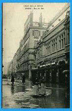 CPA: Paris - Crue de la Seine - Rue du Bac