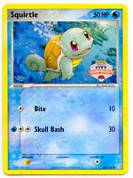 Squirtle 63/100 City Championship Stamped EX Crystal Guardians Pokemon Promo NM+