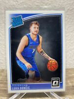 LUKA DONCIC 2018-19 Panini Donruss Optic 177 RC Rated Rookie
