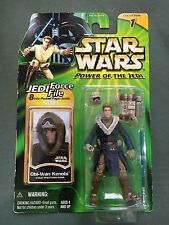 Kenner Star Wars 2000 POTJ 3-3/4 Force File Obi-Wan Kenobi